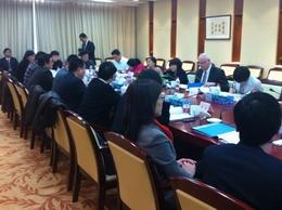 动漫游戏标委会主任朱自强在沪会见ISO秘书长罗博•斯蒂尔先生
